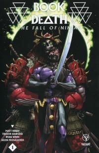 Book of Death Fall of Ninjak #1 CVR B