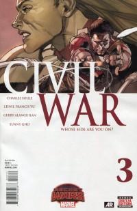 Civil War V2 #3 Secret Wars