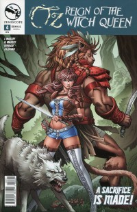 GFT OZ Reign of Witch Queen #4 CVR A