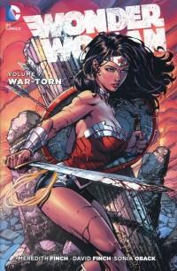 Wonder Woman HC New 52 V7 War Torn