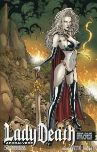 Lady Death Apocalypse #0  Blazing Hot CVR