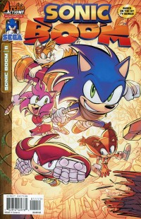 Sonic Boom #11  CVR A