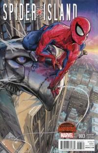 Spider-Island #3  Manga Var Secret Wars