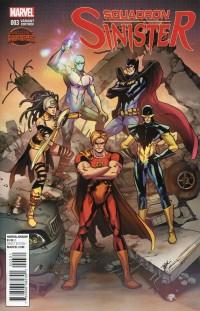 Squadron Sinister #3  Secret Wars Manga Variant