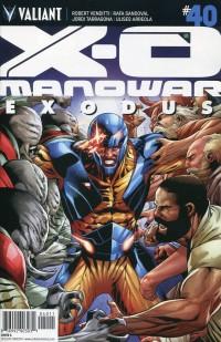 X-O Manowar V3 #40  CVR A