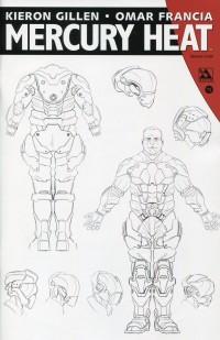Mercury Heat #3 Designs Order CVR