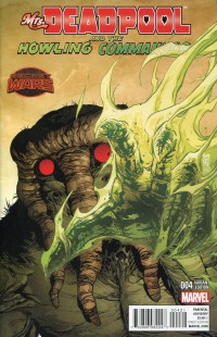 Mrs Deadpool and Howling  Commandos #4 Variant