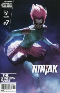 Ninjak V3 #7 CVR B
