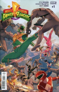Mighty MP Rangers #1 (Morphin Power) CVR A