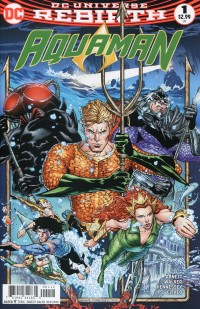 Aquaman  #1 2nd Printing