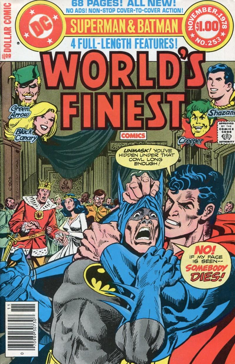 Worlds Finest #253  FN
