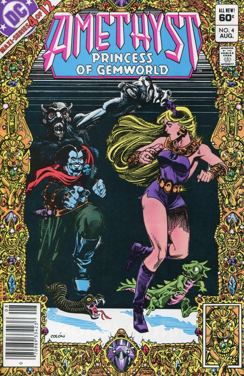 Amethyst Princess G #4  MS (of Gemworld) VG