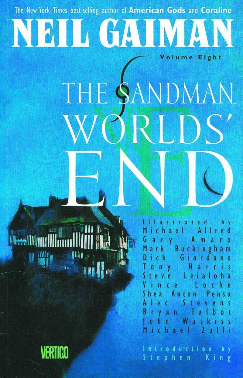 Sandman TP V8 Worlds End