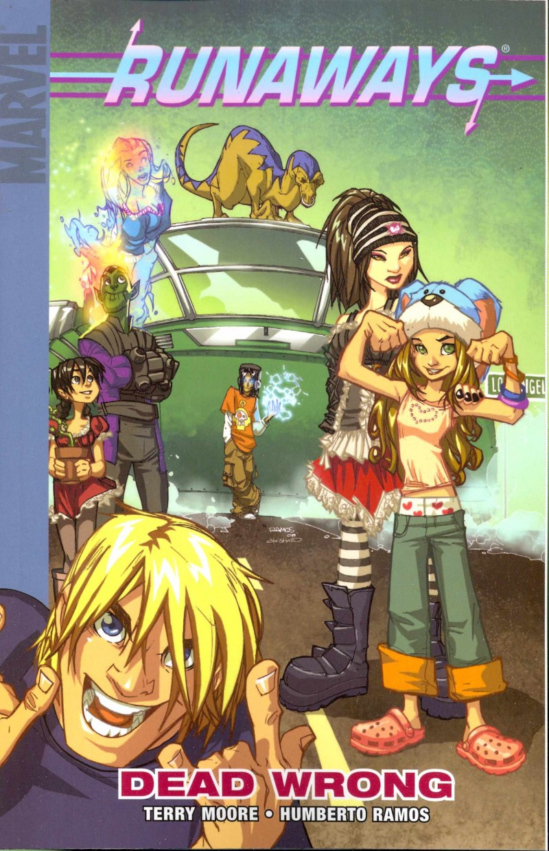 Runaways TP V9 Dead Wrong Digest Sized