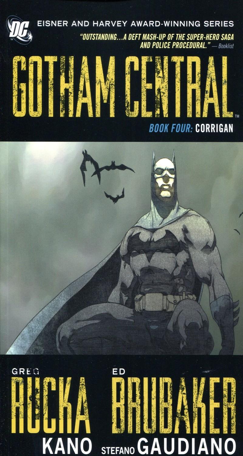 Gotham Central TP Deluxe  V4 Corrigan