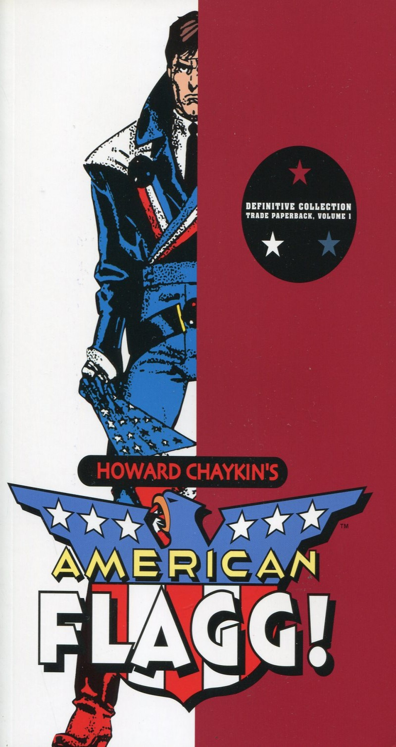 American Flagg TP V1  Definitive Collection