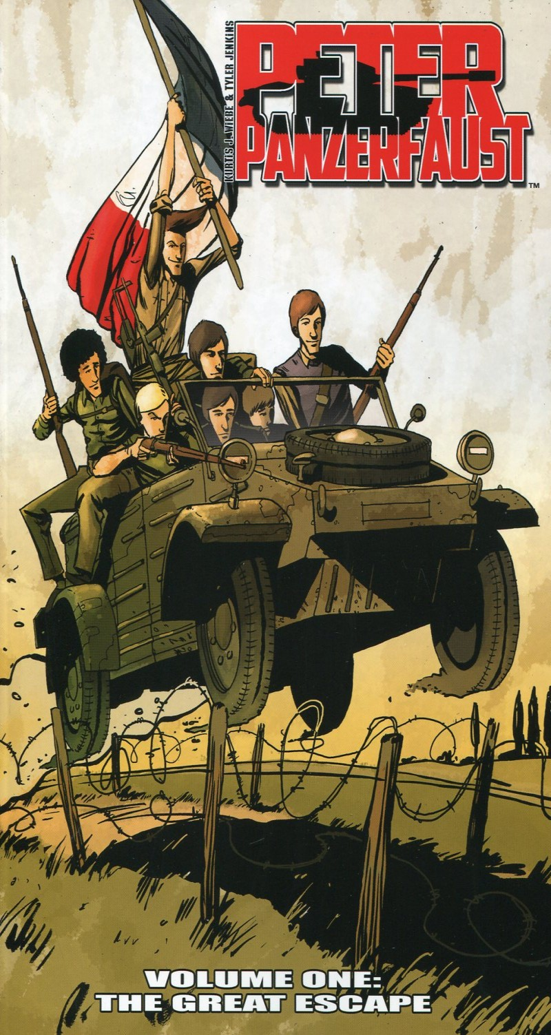 Peter Panzerfaust TP V1 the Great Escape