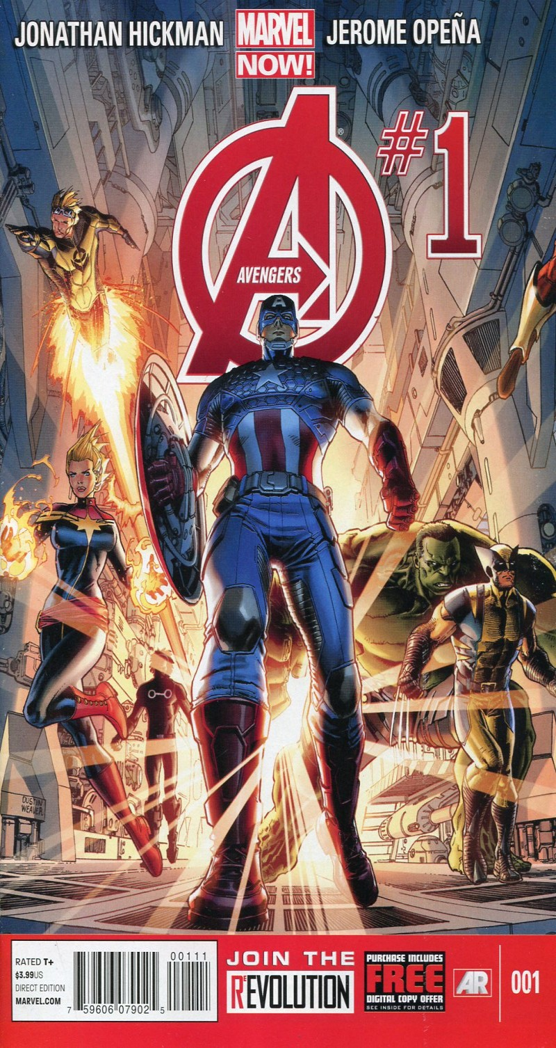 Avengers V5 #1