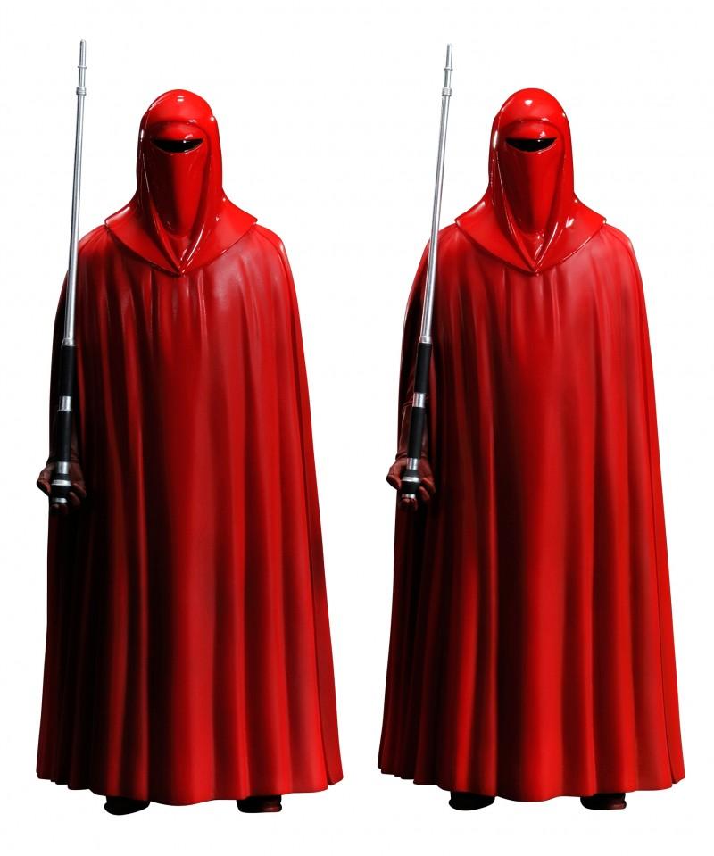 Star Wars Statue Artfx  Emperors Royal Guard 2pk