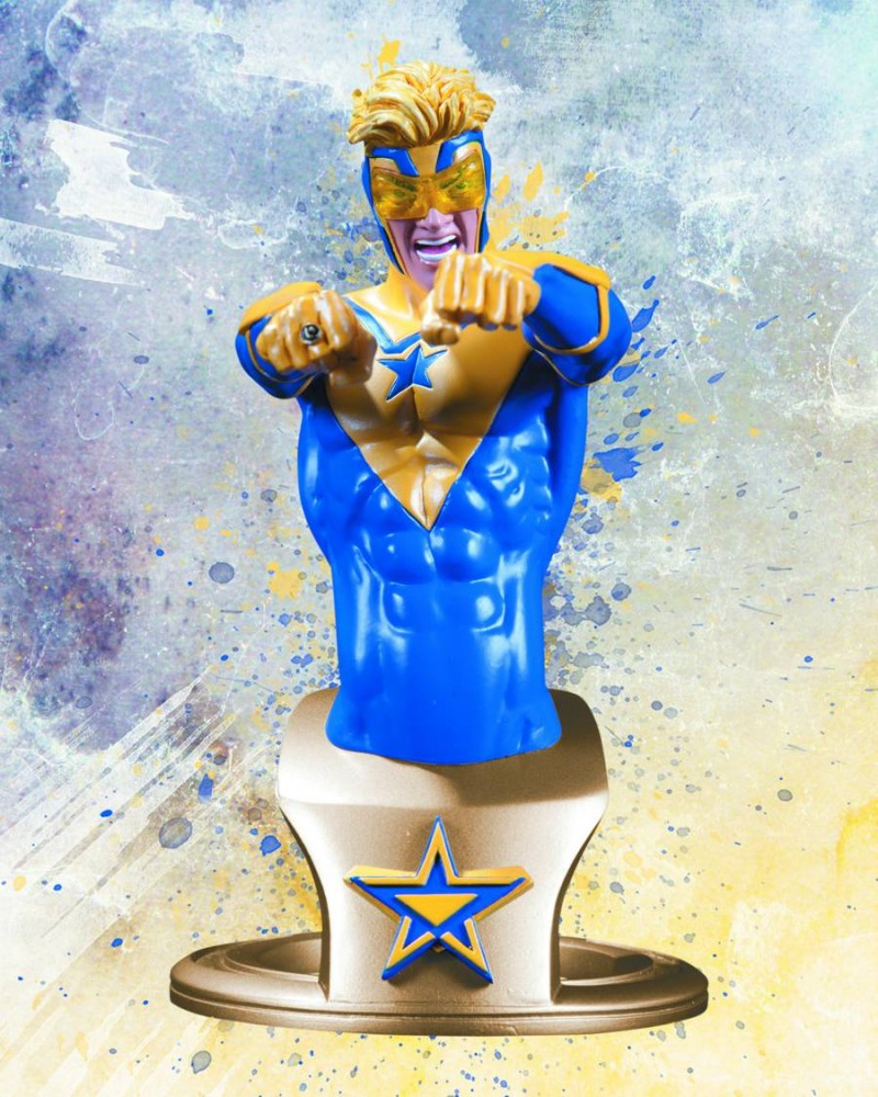 DC Statue New DC 52 Booster Gold Bust