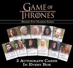 Game of Thrones Trading Cards Season Two Pack