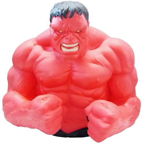 Marvel Bank Red Hulk Bust