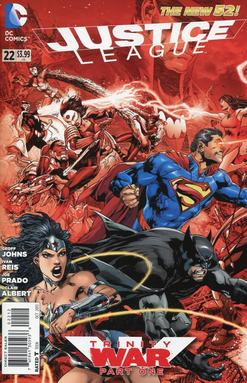 Justice League #22  Second Printing
