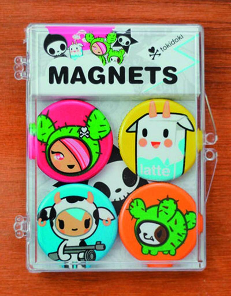 Tokidoki Magnet 4-pack  Cactus and Friends