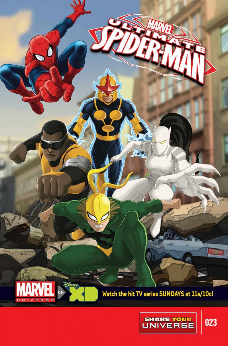 Ultimate Spider-Man Animated #23