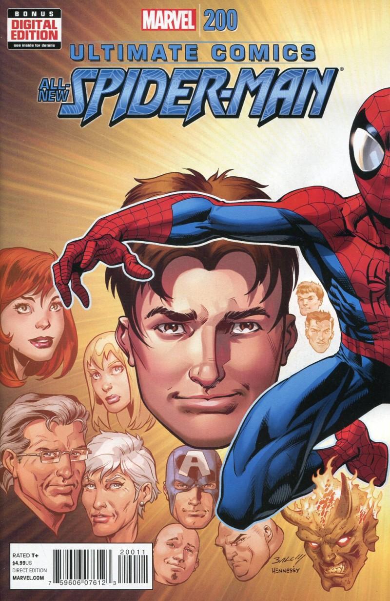 Ultimate Spider-Man #200  CVR A Bagley