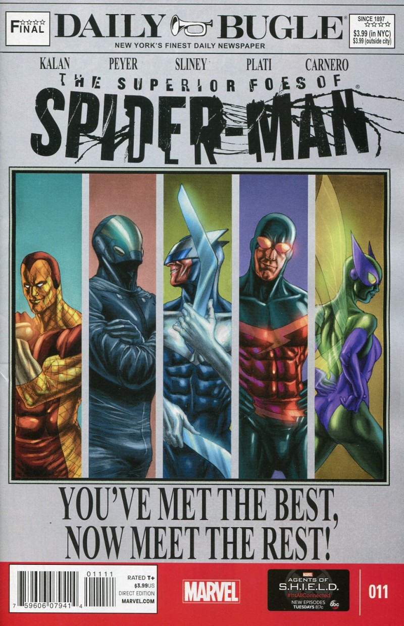 Superior Foes of  Spider-Man #11