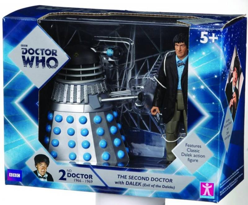 Dr Who AF Second Doctor with Dalek 2-Pack