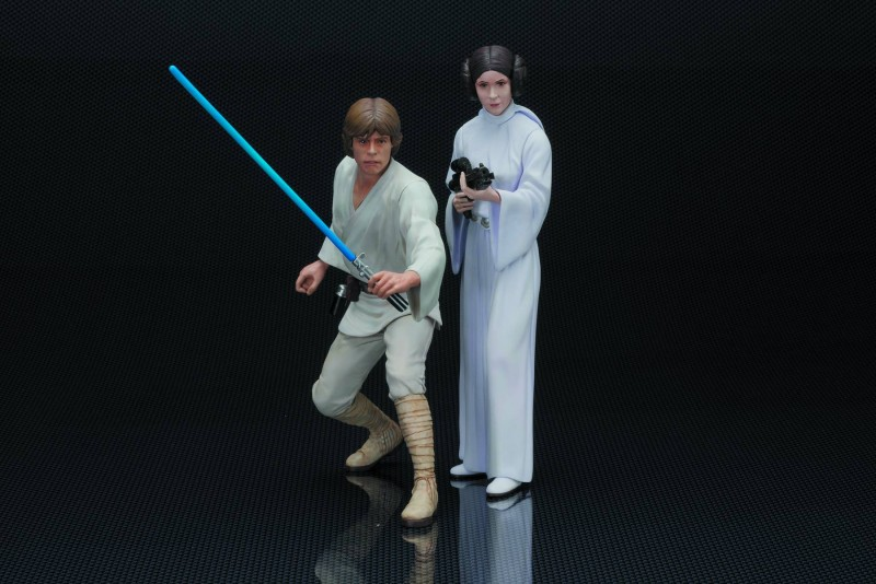 Star Wars Statue Artfx  Luke and Princess Leia