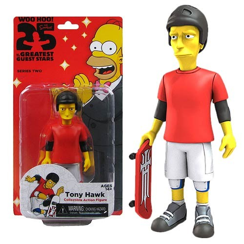 Simpsons AF Greatest  Guest Stars Tony Hawk