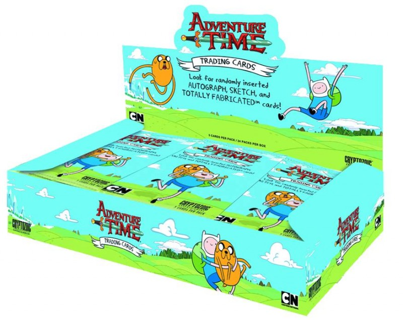Adventure Time Trading  Cards Pack
