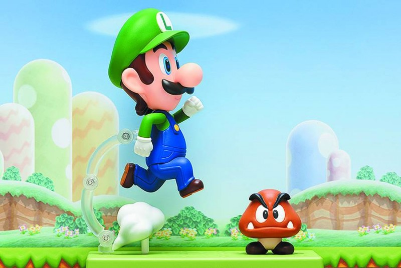 Super Mario Bros AF Nendoroid Luigi