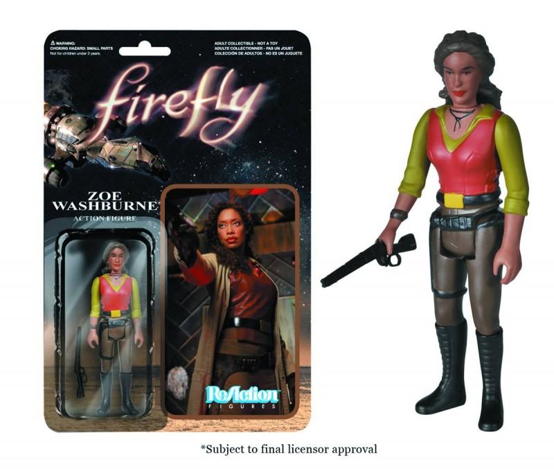 Reaction Firefly AF Zoe Washburne