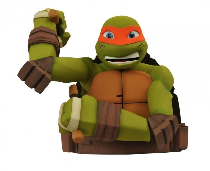 TMNT Bank Michaelangelo