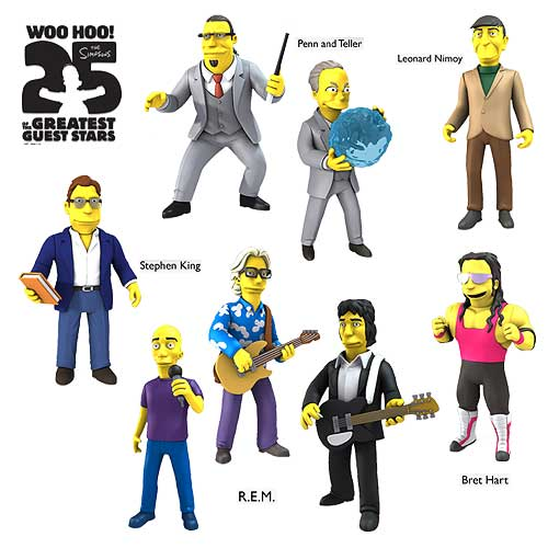 Simpsons AF Greatest  Guest Stars Peter Buck