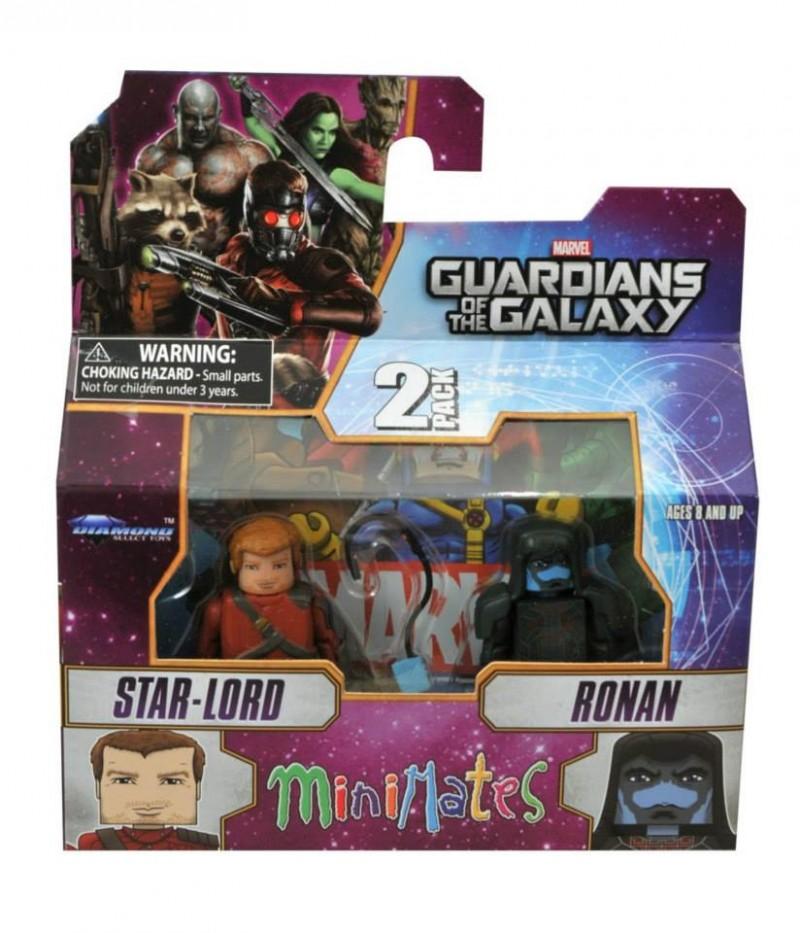 Marvel Minimates S57  GOTG Starlord & Ronin
