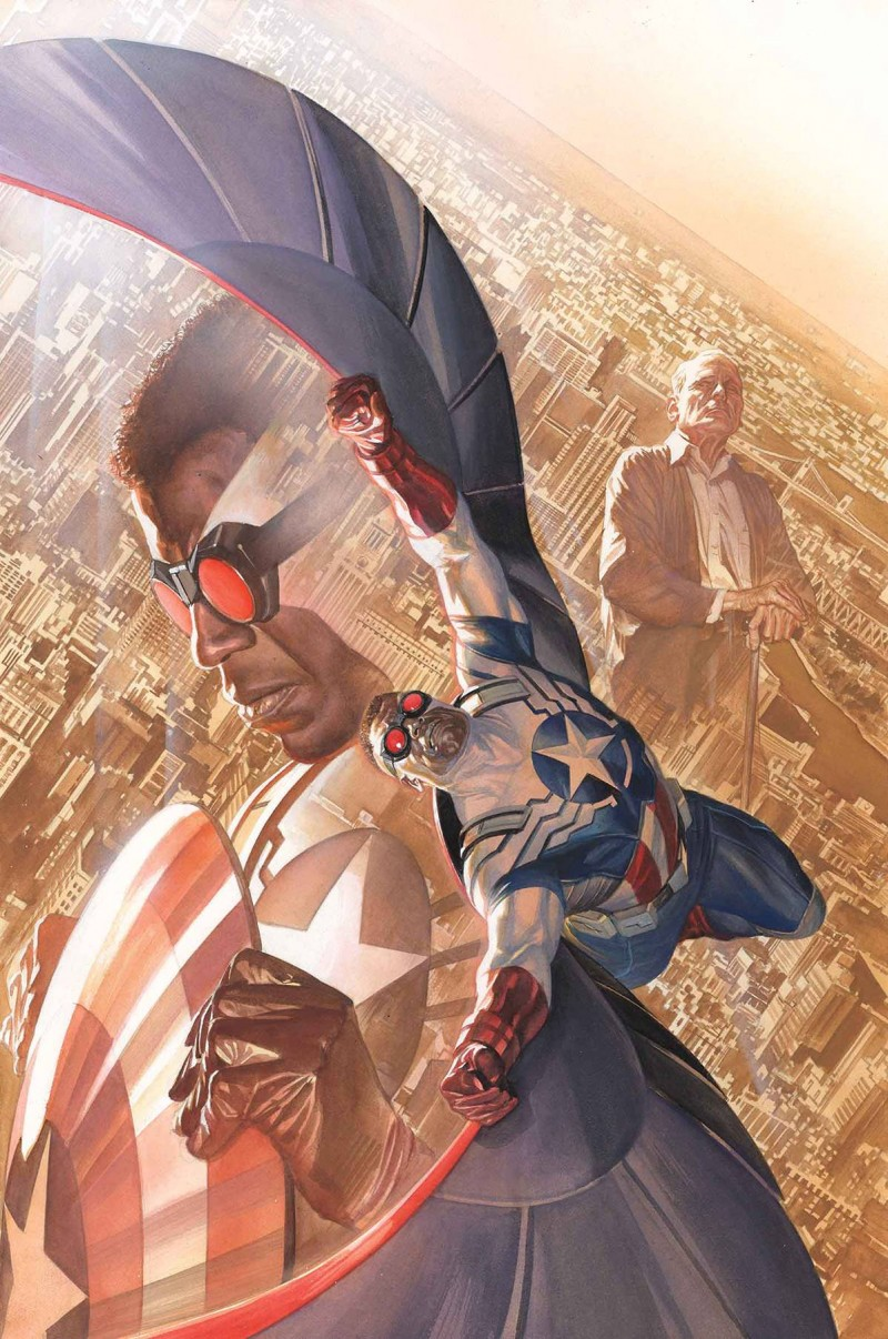 Marvel Poster All New Captain America by Ross