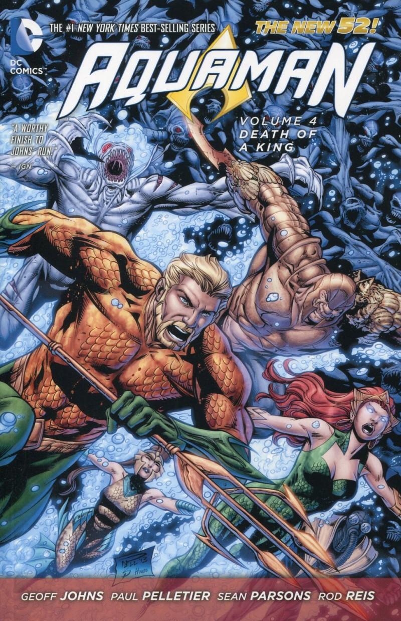 Aquaman TP New 52 V4  Death of a King