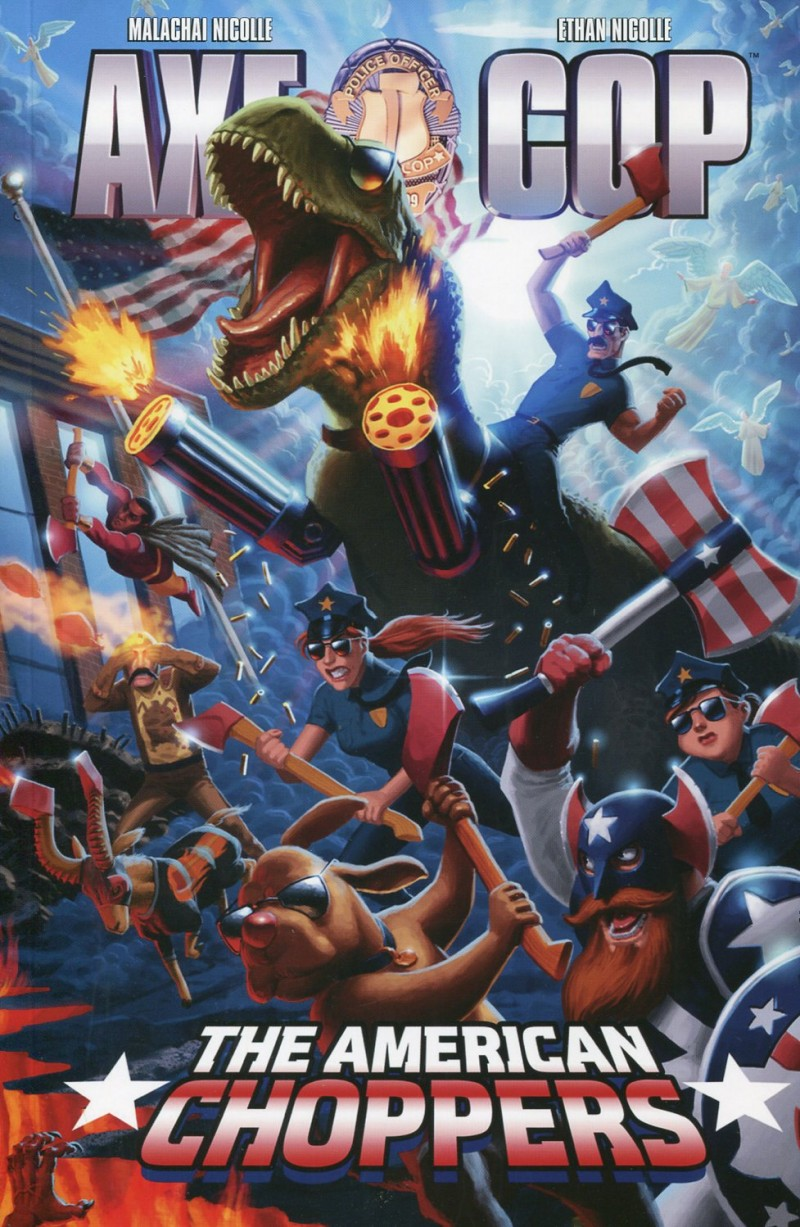 Axe Cop TP V6 American  Choppers
