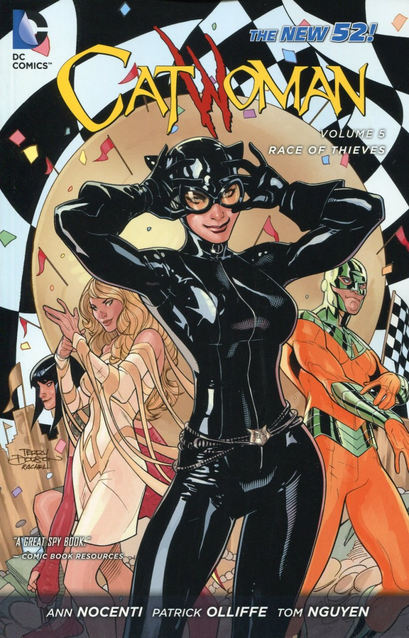 Catwoman TP New 52 V5 Race of Thieves