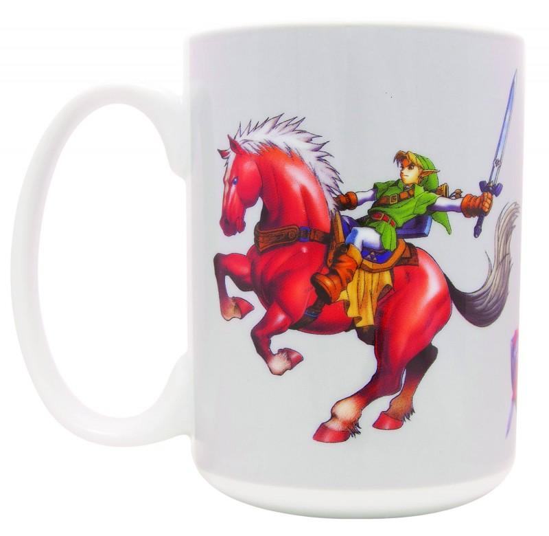 Legend of Zelda Mug Ocarina of Time Link Epon
