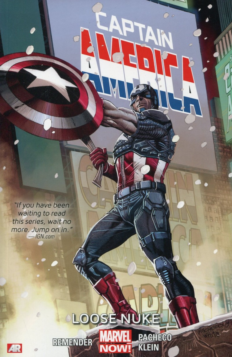 Captain America TP Now V3 Loose Nuke