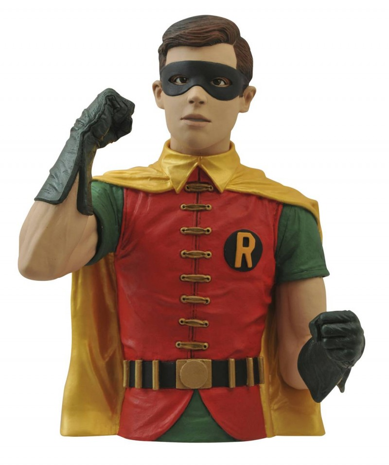 DC Bank Batman Bust 1966 Robin