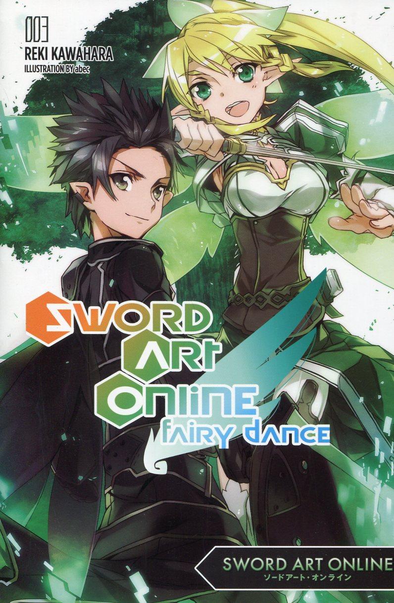 Sword Art Online Novel  GN V3 Fairy Dance