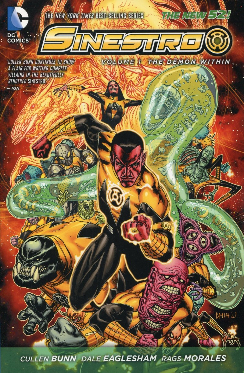 Sinestro TP V1  the Demon Within