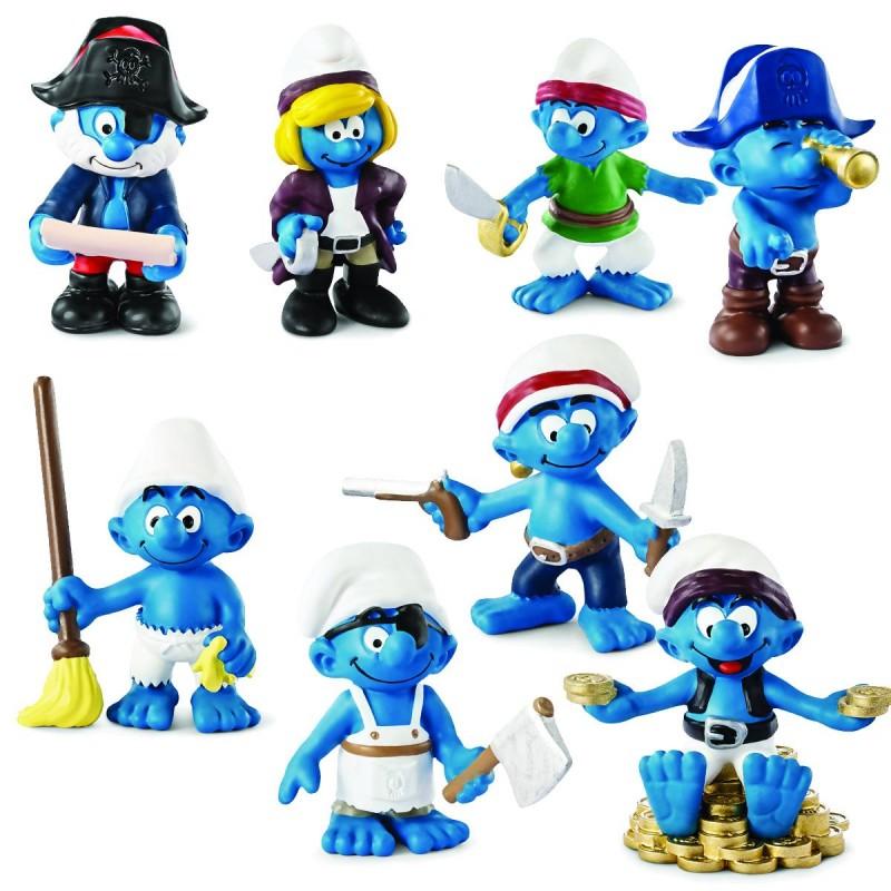 Smurfs PVC Pirate Asst